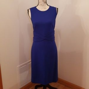 DVF cosmic blue dress